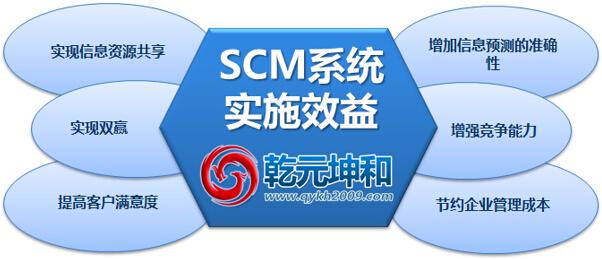 SCM系统的实施效益