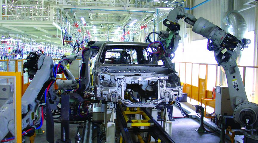 MES系统在汽车行业中的应用