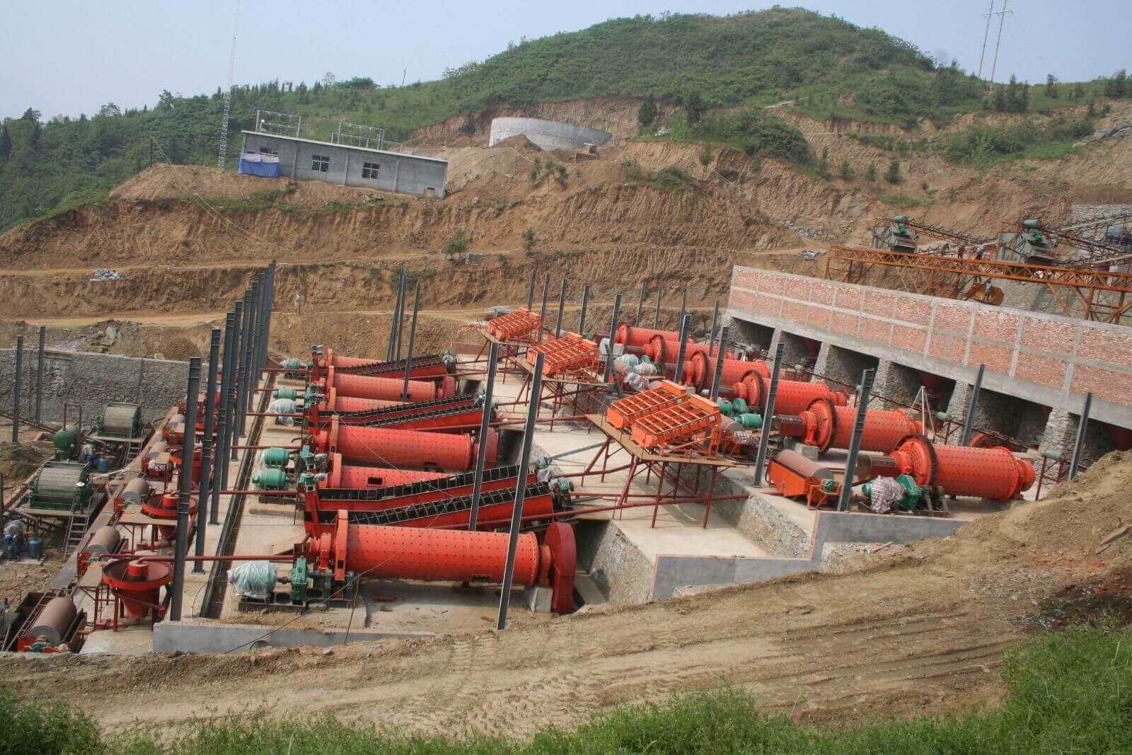 选矿设备管理系统