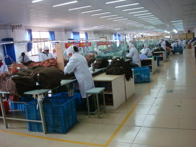 服装制造业生产解决方案