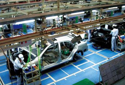 汽车mes系统架构